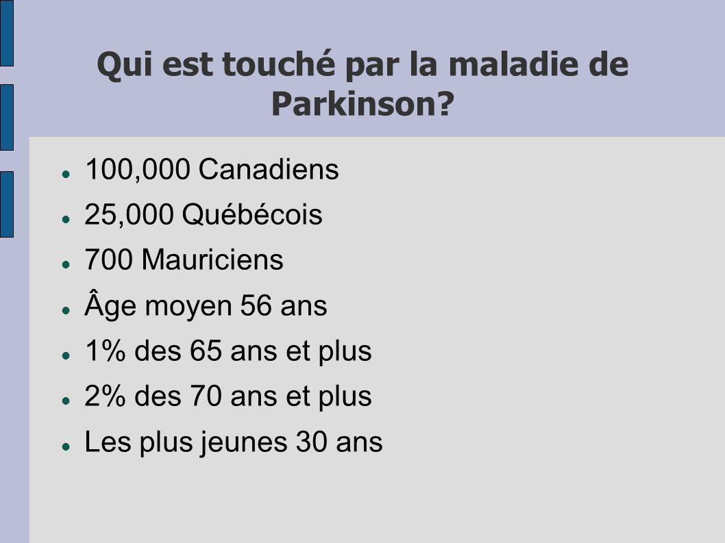 Qui est touché par la maladie de Parkinson