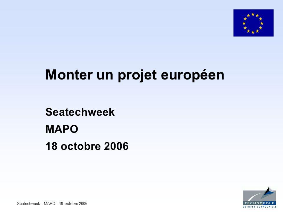 Monter un projet européen