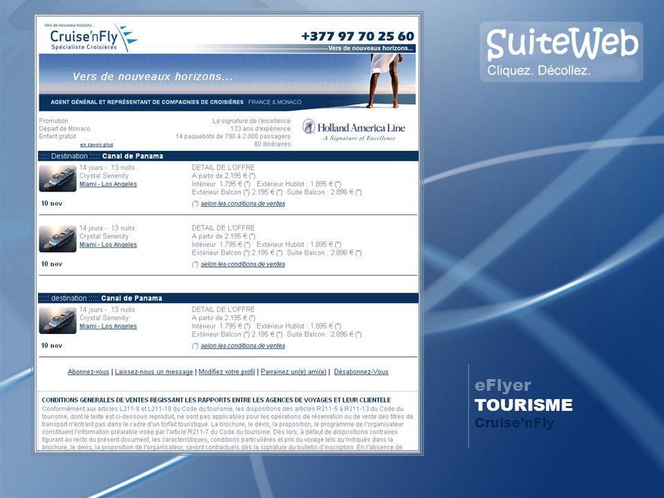 eFlyer TOURISME Cruise'nFly