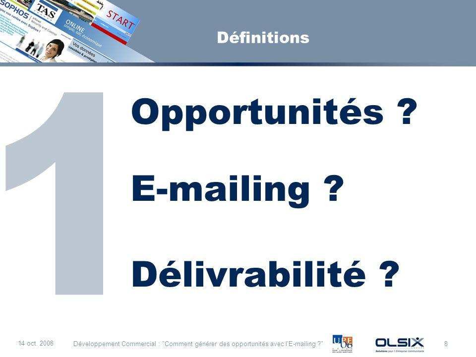 Opportunités E-mailing