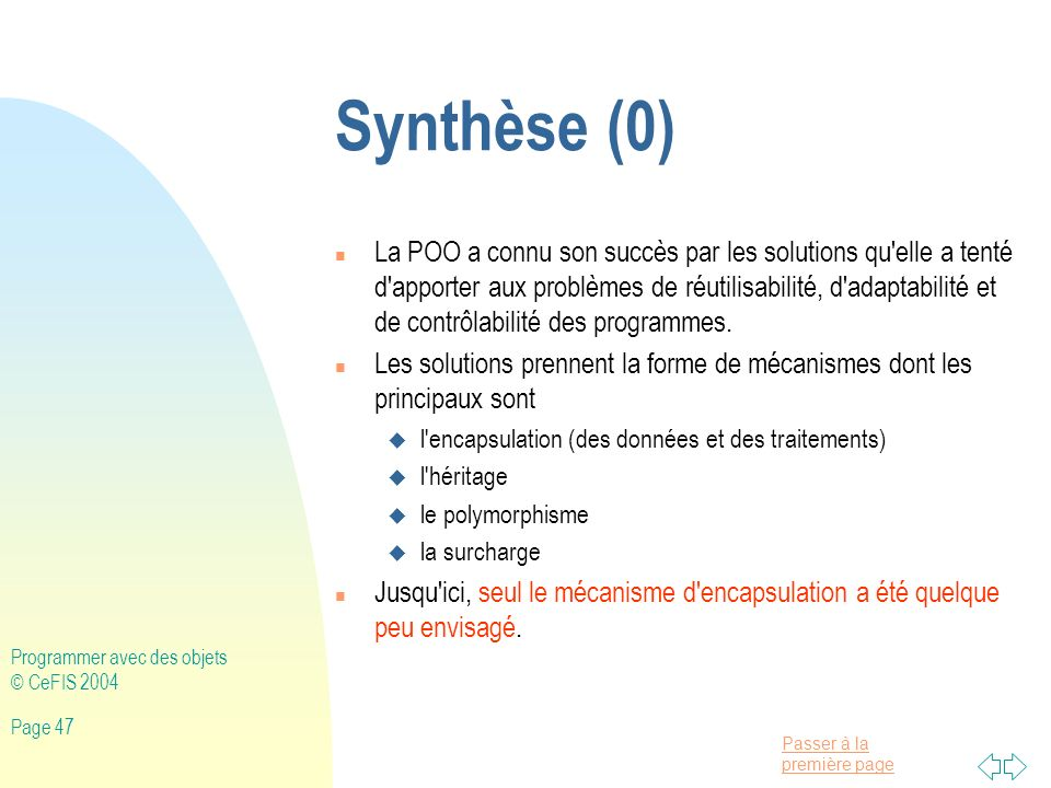 Synthèse (0)