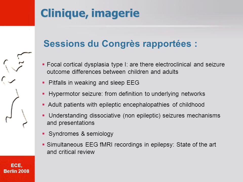 Clinique, imagerie Sessions du Congrès rapportées :