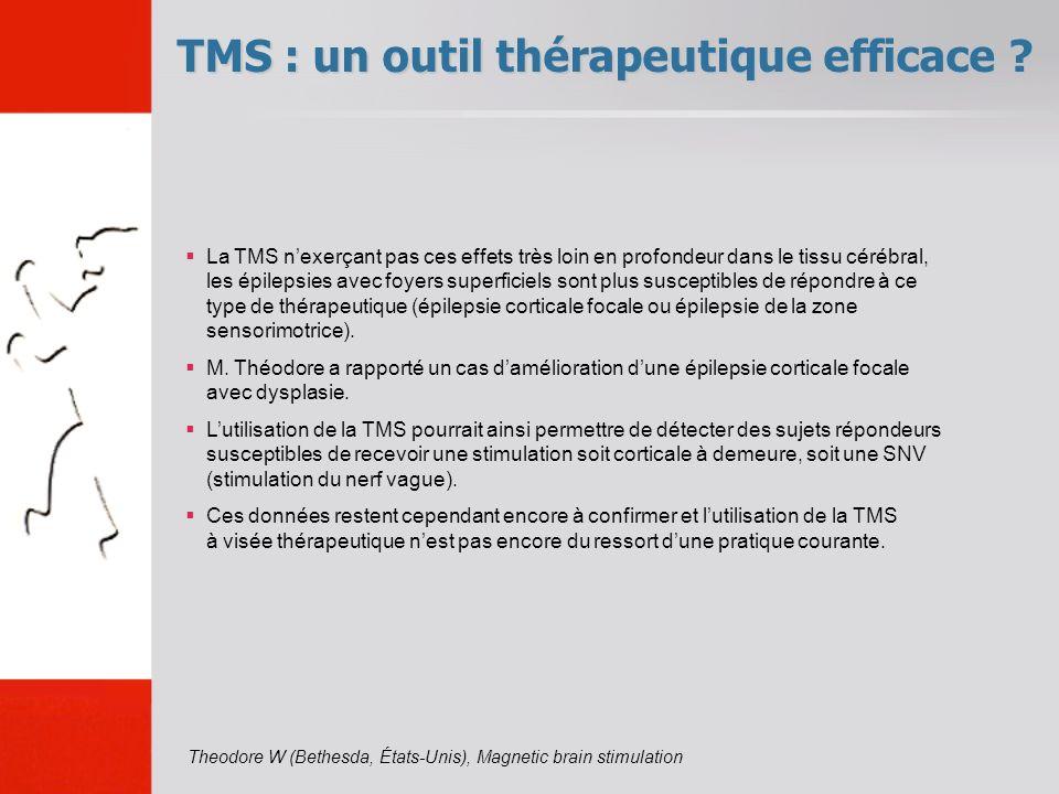 TMS : un outil thérapeutique efficace