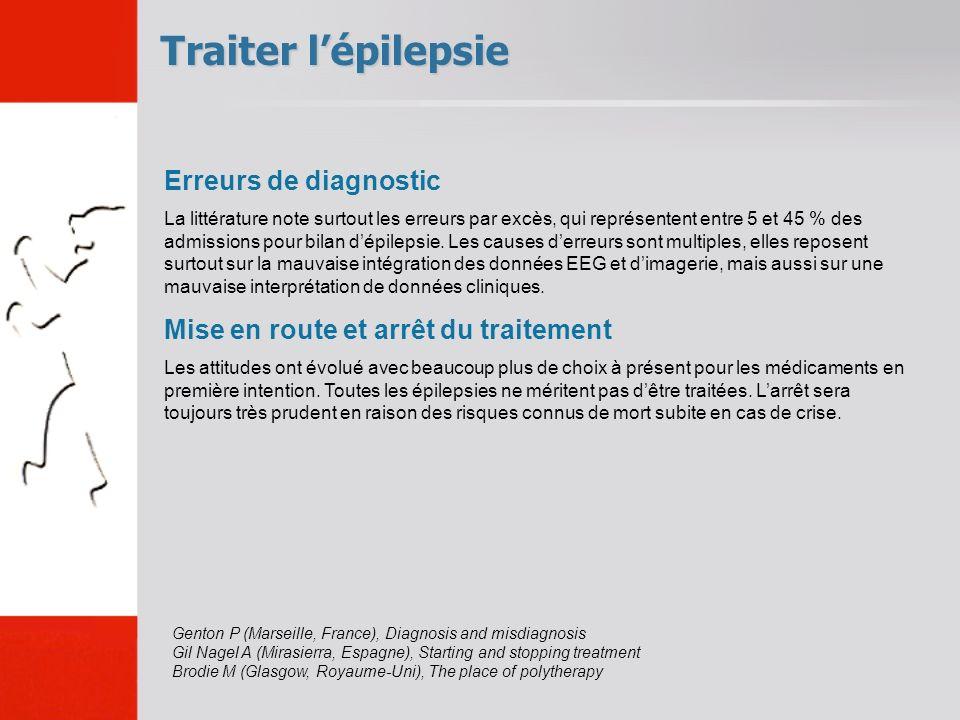 Traiter l'épilepsie Erreurs de diagnostic