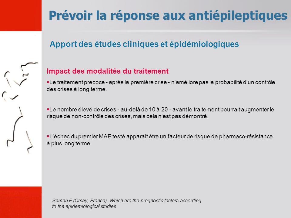 Prévoir la réponse aux antiépileptiques