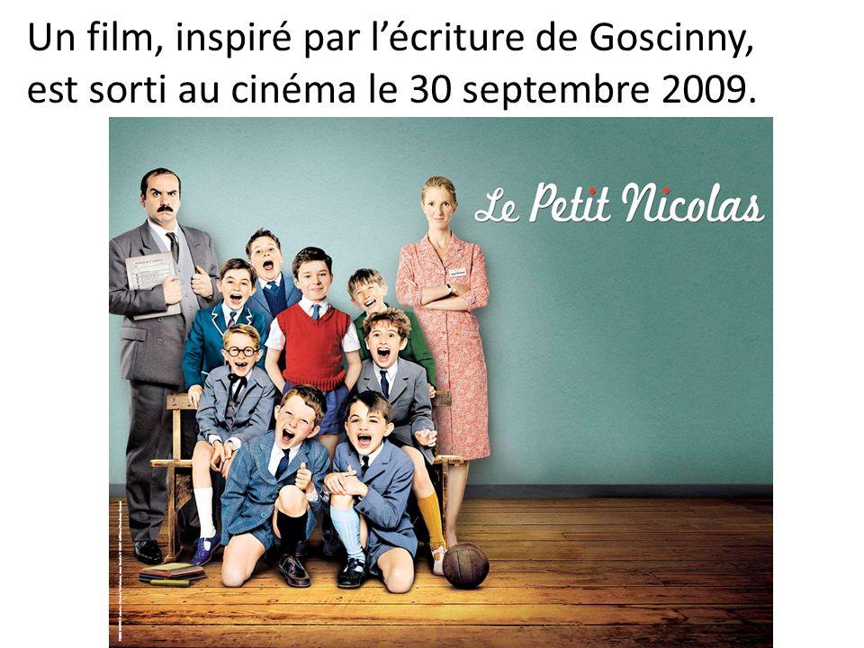 Un film, inspiré par l'écriture de Goscinny, est sorti au cinéma le 30 septembre 2009.