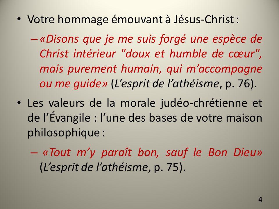 Votre hommage émouvant à Jésus-Christ :