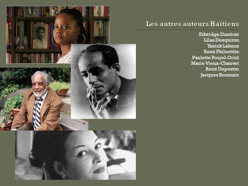 Les autres auteurs Haïtiens