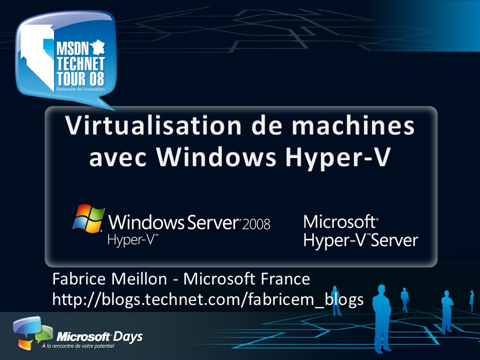 Virtualisation de machines avec Windows Hyper-V