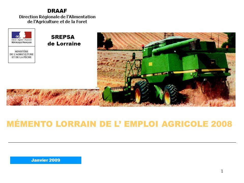 Direction Régionale de l'Alimentation de l'Agriculture et de la Foret