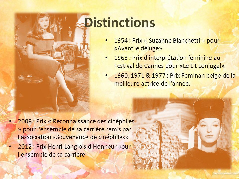 Distinctions 1954 : Prix « Suzanne Bianchetti » pour «Avant le déluge»