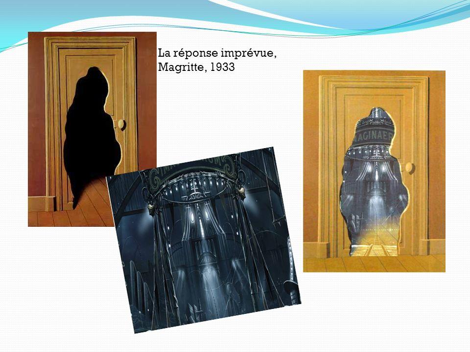 La réponse imprévue, Magritte, 1933