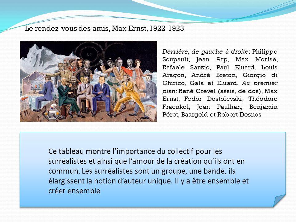 Le rendez-vous des amis, Max Ernst, 1922-1923