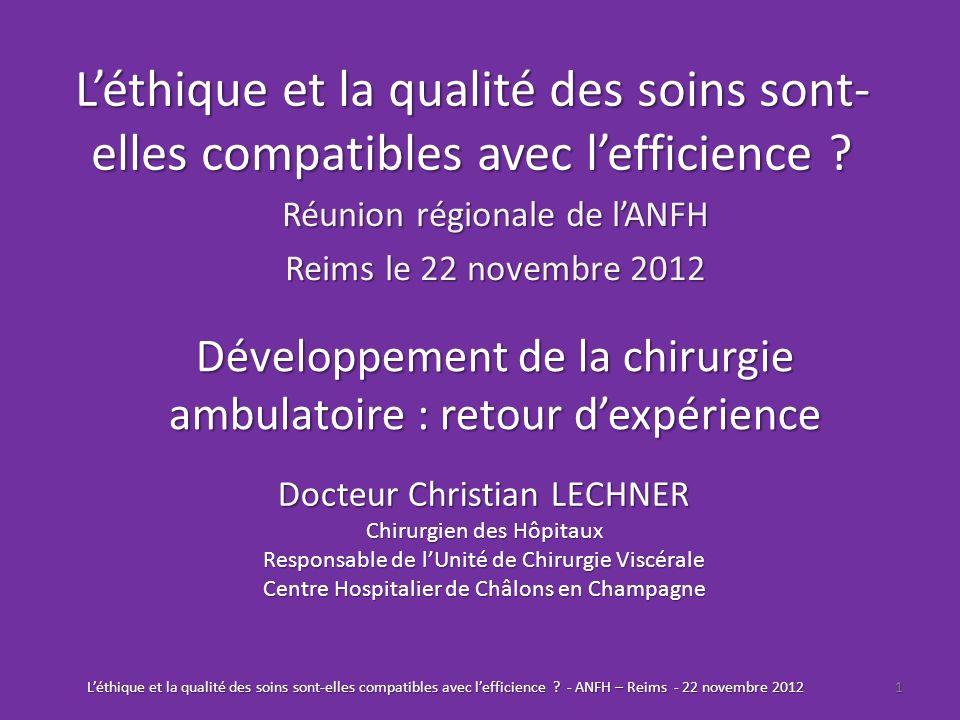 Réunion régionale de l'ANFH Reims le 22 novembre 2012