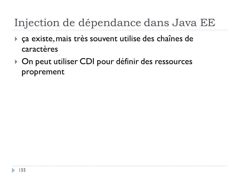 Injection de dépendance dans Java EE