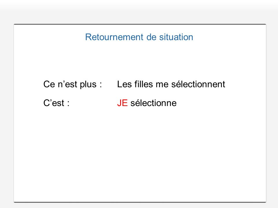 Retournement de situation
