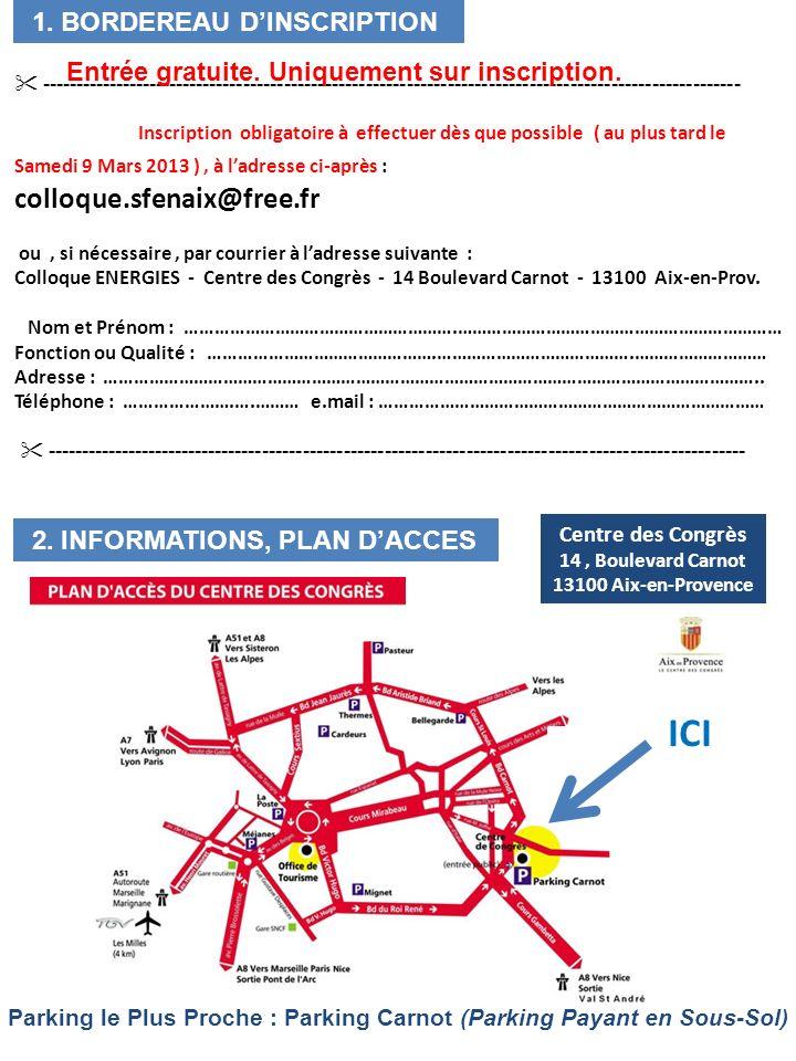 Centre des Congrès 14 , Boulevard Carnot 13100 Aix-en-Provence
