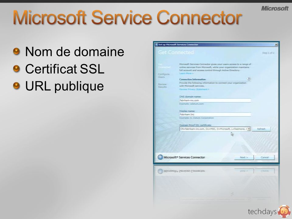 Microsoft Service Connector