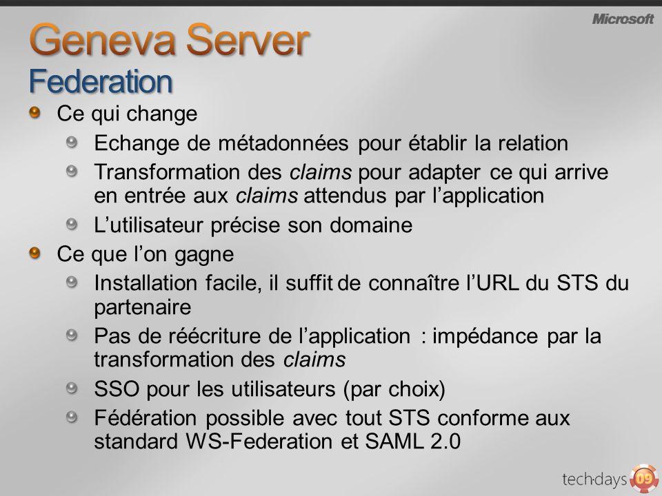 Geneva Server Federation