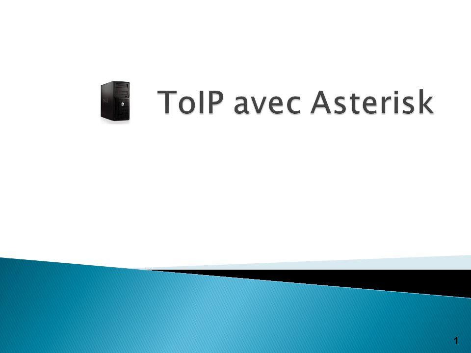 ToIP avec Asterisk