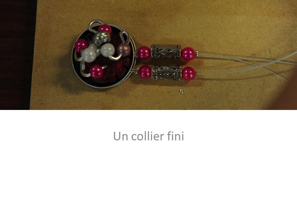 Un collier fini