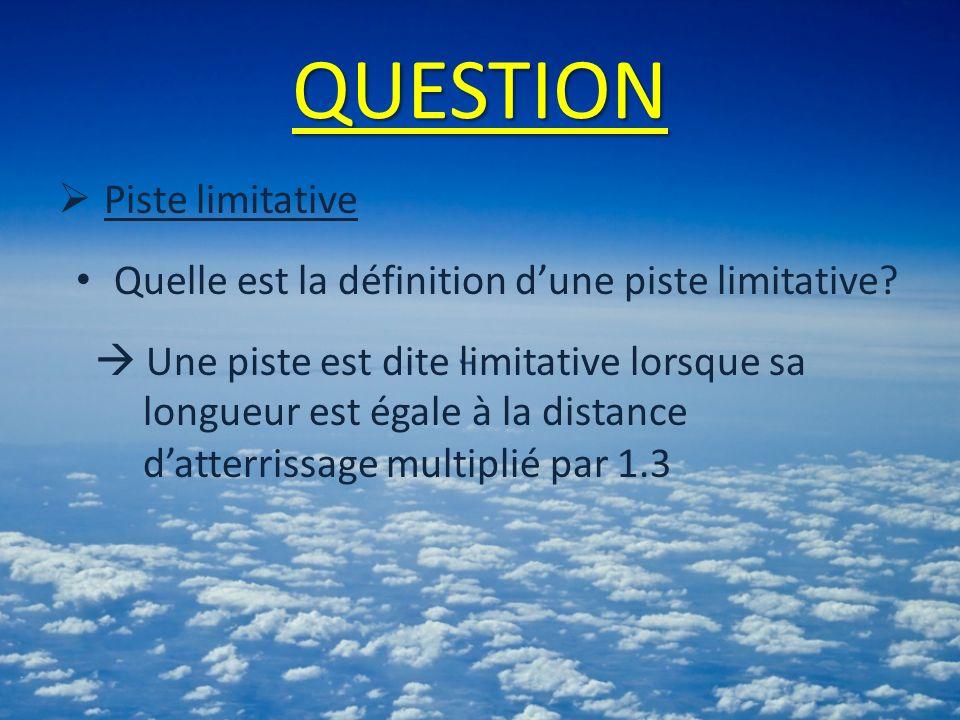 QUESTION Piste limitative