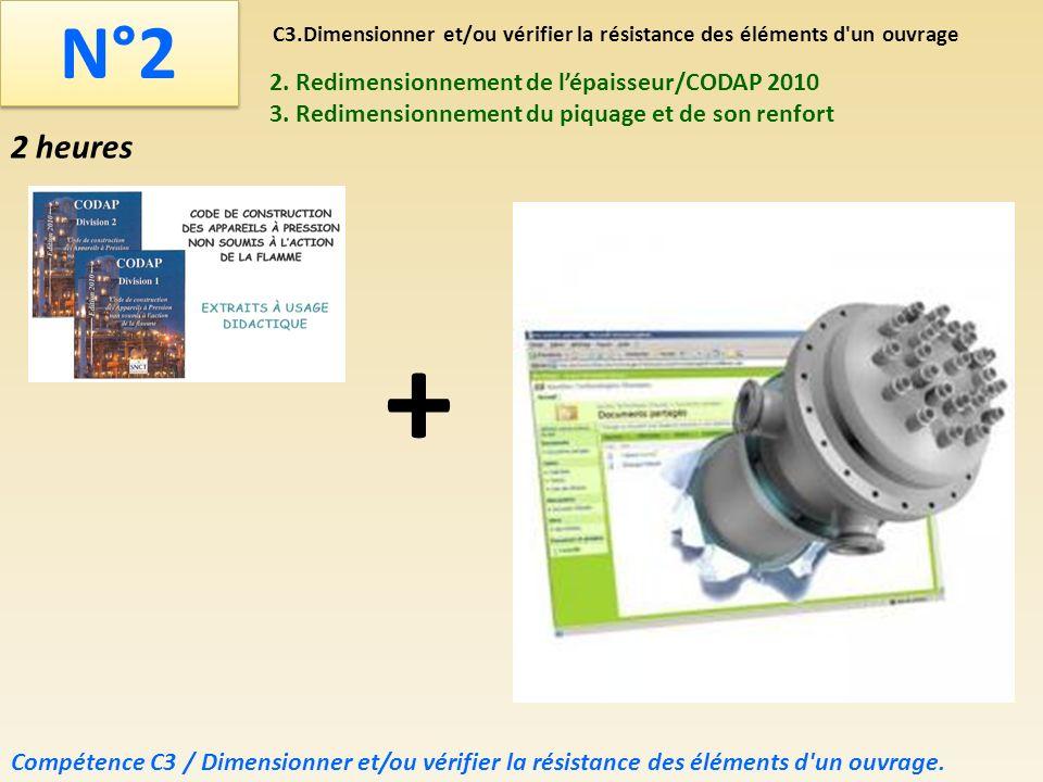 C3.Dimensionner et/ou vérifier la résistance des éléments d un ouvrage