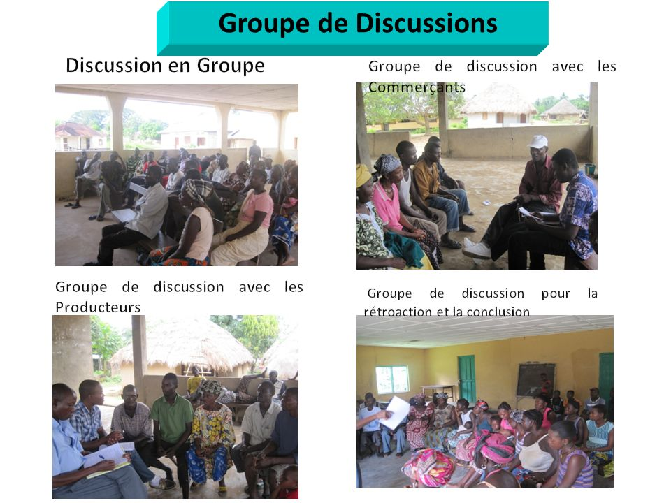 Groupe de Discussions Discussion en Groupe
