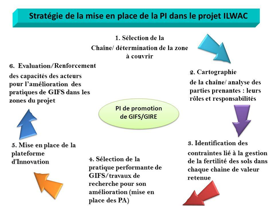 Stratégie de la mise en place de la PI dans le projet ILWAC