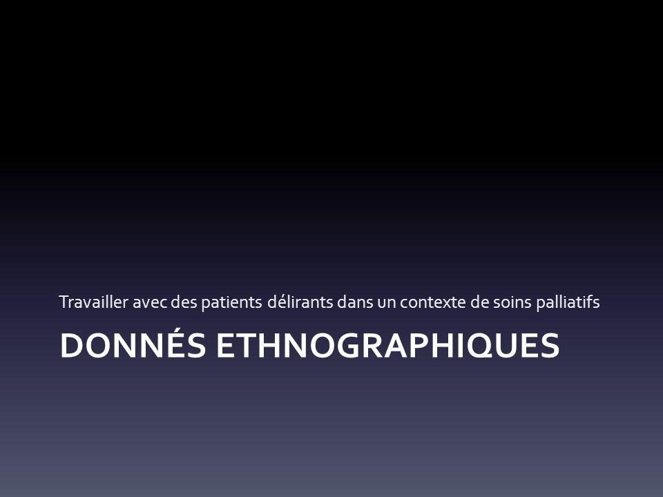 DONNÉS ETHNOGRAPHIQUES