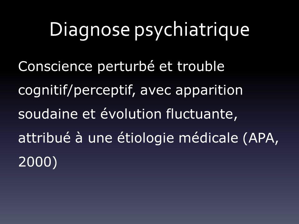 Diagnose psychiatrique