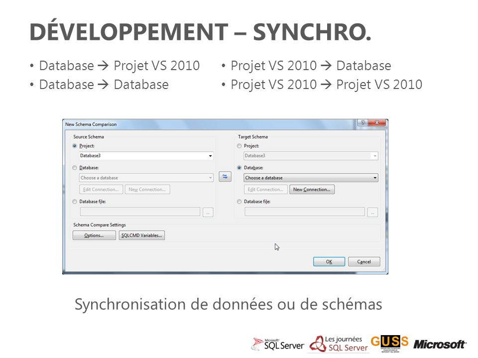 Développement – SYnchRO.