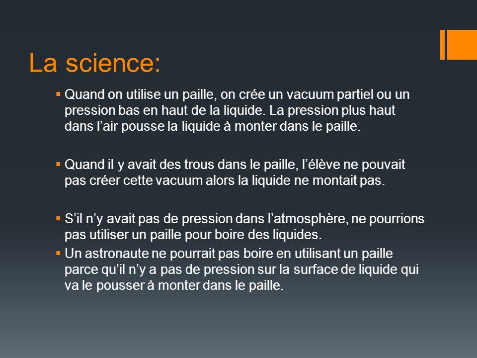 La science: