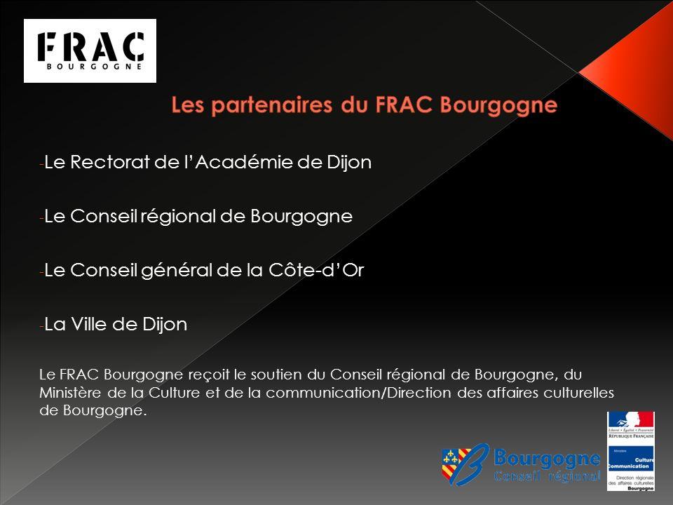 Les partenaires du FRAC Bourgogne