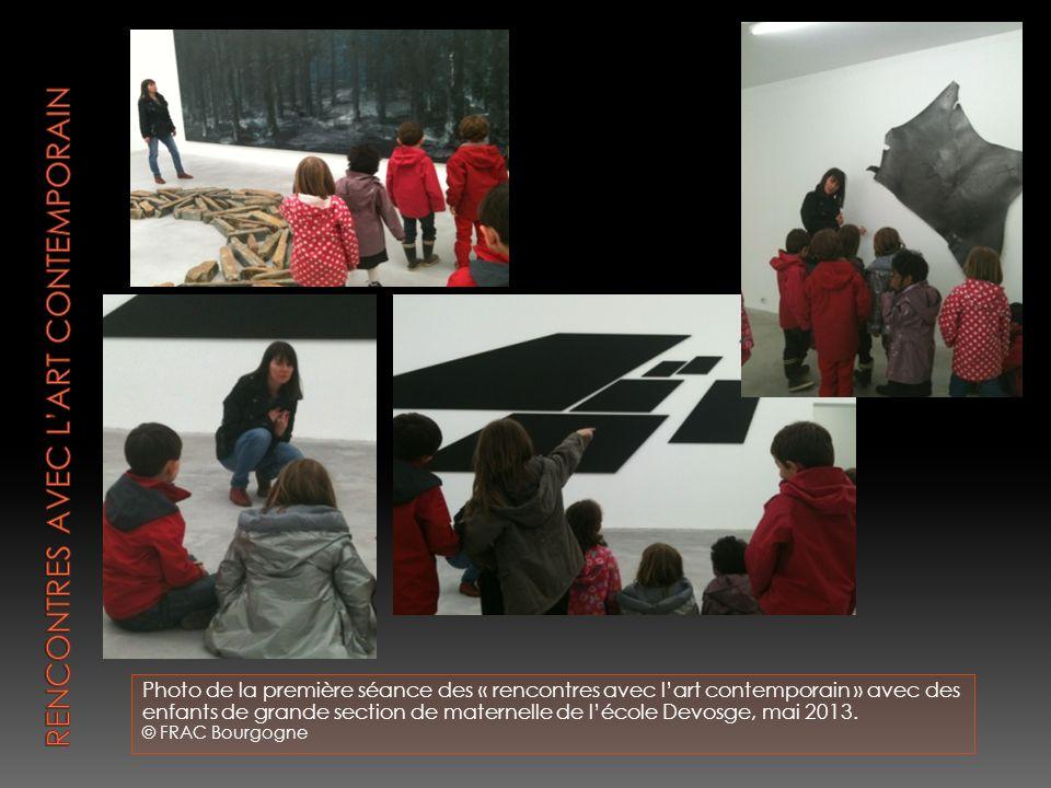Rencontres avec l'art contemporain