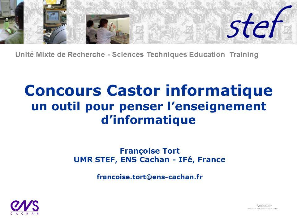 UMR STEF, ENS Cachan - IFé, France