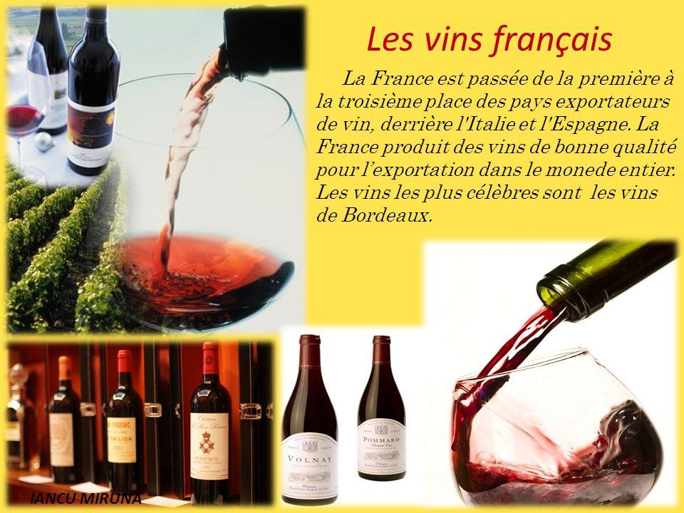Les vins français