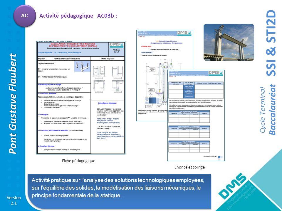 Activité pédagogique AC03b :