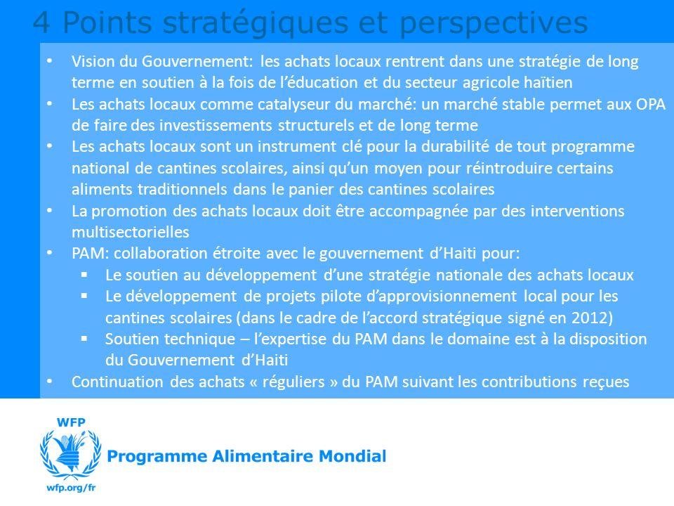 4 Points stratégiques et perspectives