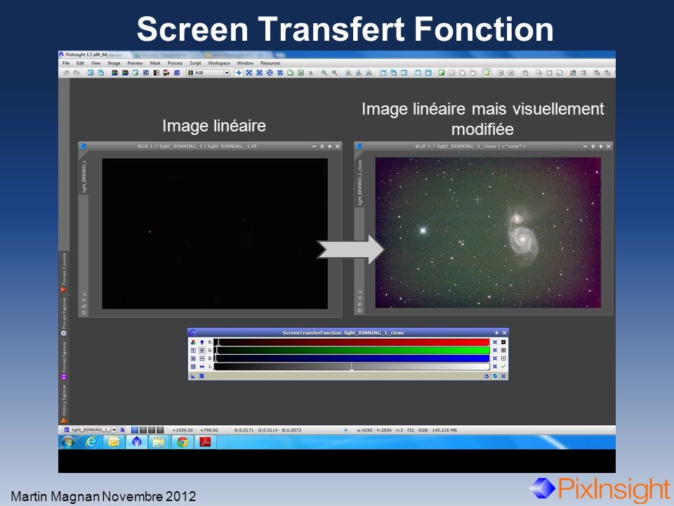 Screen Transfert Fonction