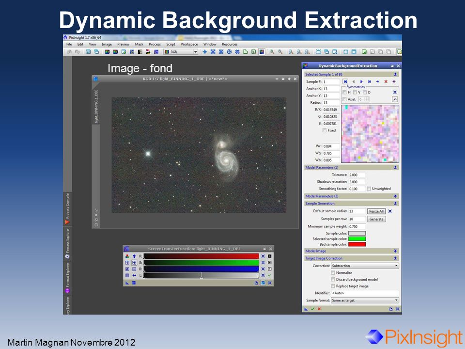 Dynamic Background Extraction