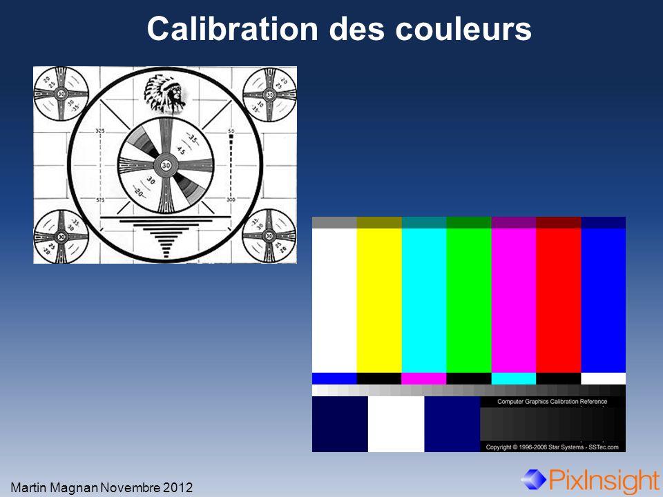 Calibration des couleurs