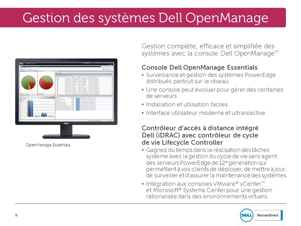 Gestion des systèmes Dell OpenManage
