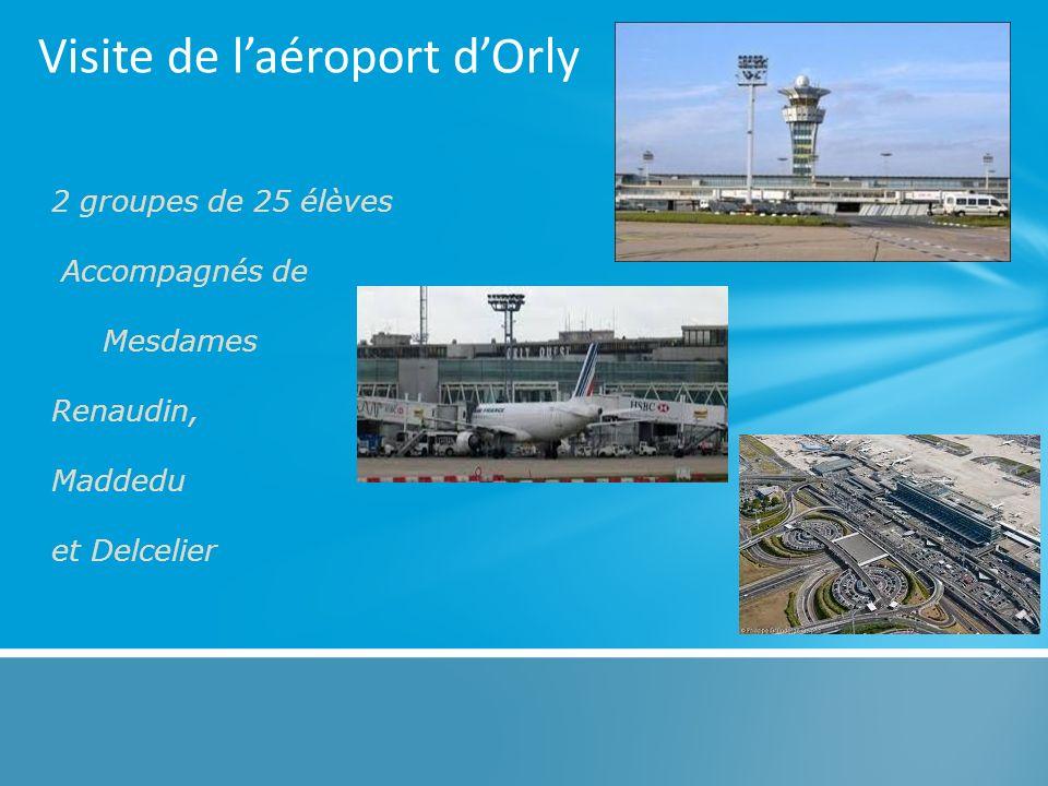 Visite de l'aéroport d'Orly