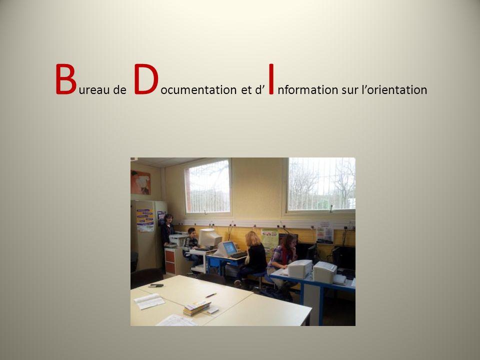 Bureau de Documentation et d'Information sur l'orientation
