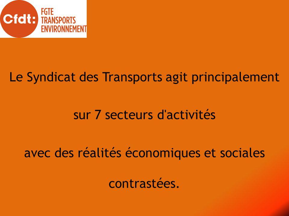Le Syndicat des Transports agit principalement