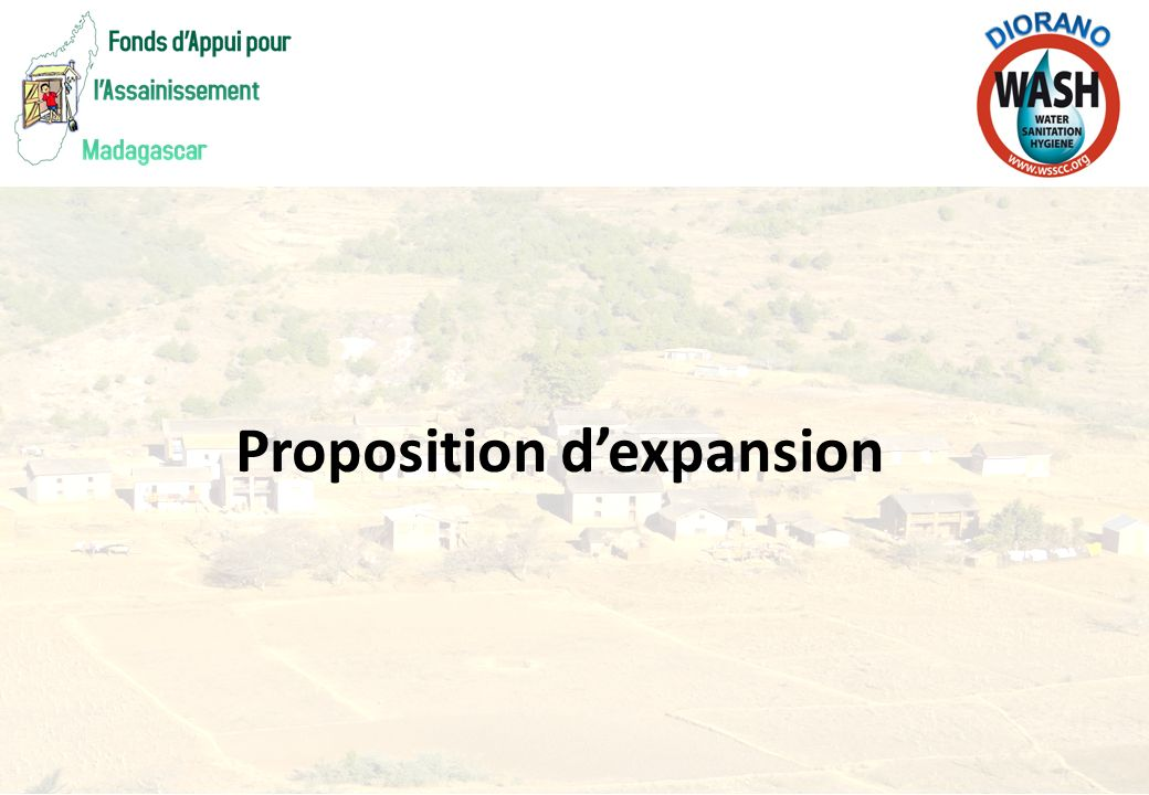 Proposition d'expansion