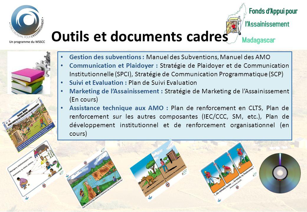 Outils et documents cadres