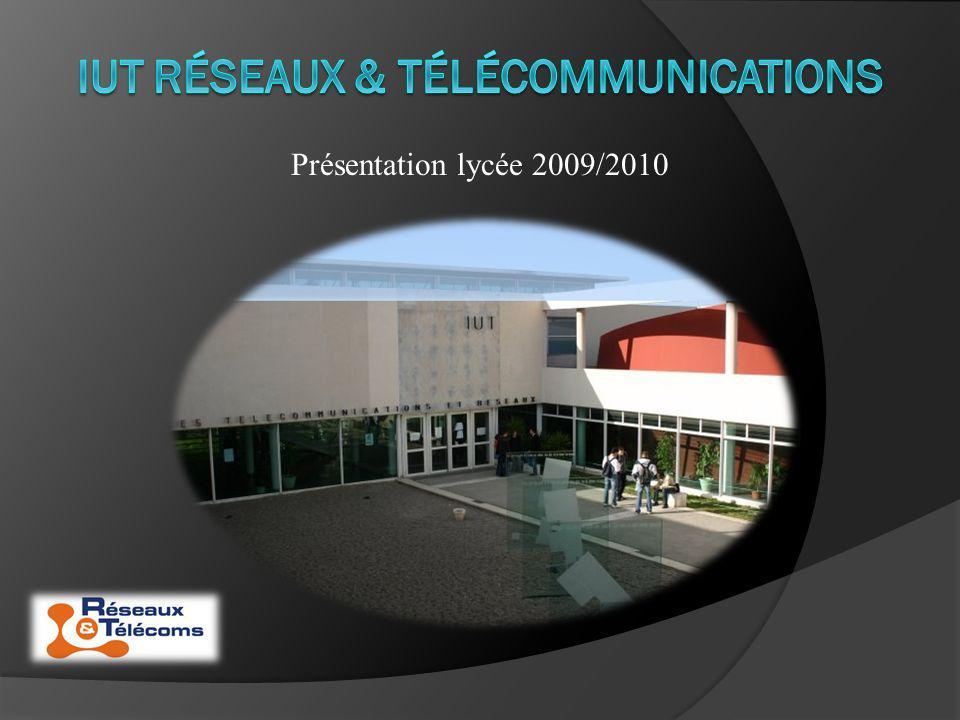IUT réseaux & télécommunications