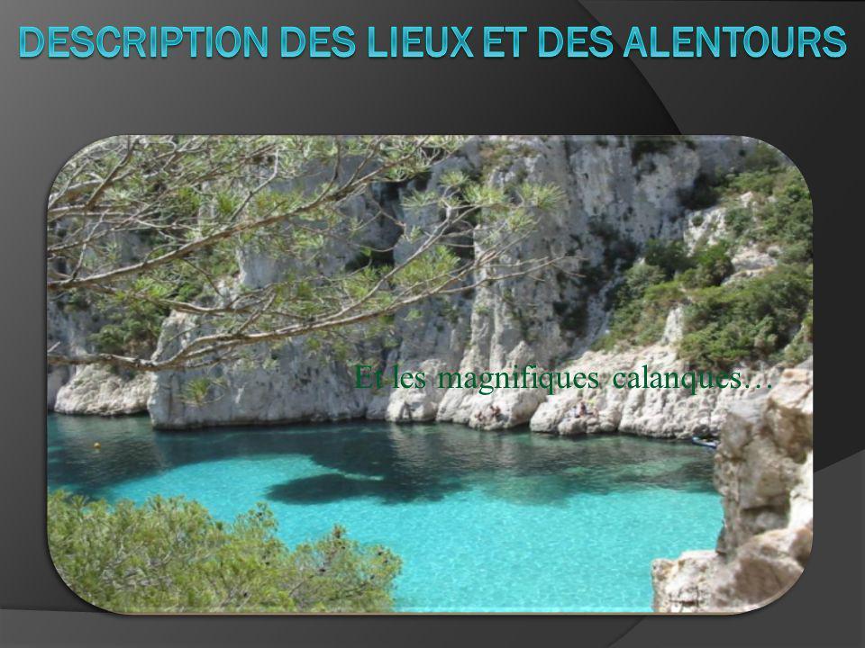 DESCRIPTION DES LIEUX ET DES ALENTOURS